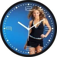 Regent Texture RC 305 Analog Wall Clock Black