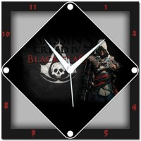 WebPlaza Assassins Creed Analog Wall Clock Multicolor