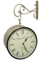 Prachin Street 12 inch Analog Wall Clock Copper