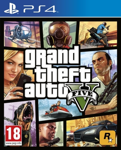 Grand Theft Auto V (for PS4)
