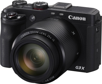 Canon PowerShot G3 X Point & Shoot Camera (Black)