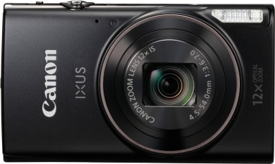 Canon IXUS 285 Point & Shoot Camera (Black)
