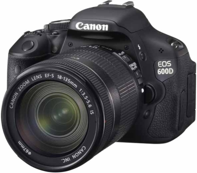 Canon EOS 600D DSLR Camera (Body with EF-S 18-135 mm IS II Lens) (Body with EF-S 18-135 mm IS II Lens)