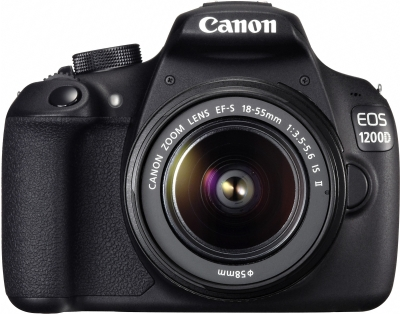 Canon EOS 1200D DSLR Camera (Kit with EF S18-55 IS II)