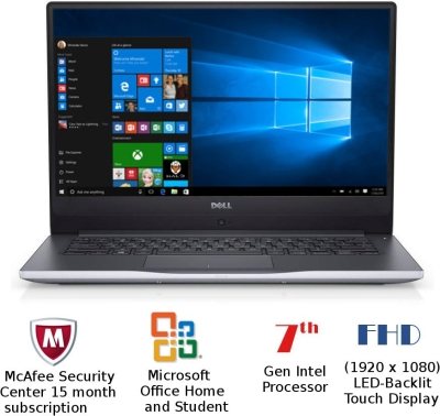 Dell Inspiron 7000 (Z561501SIN9G) Notebook  (i5/8 GB/1 TB/Win/14