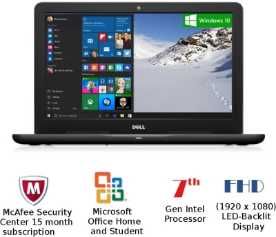 Dell Inspiron 5000 (Z563505SIN9B) Notebook (Core i7/8 GB/1 TB/Win/15.6