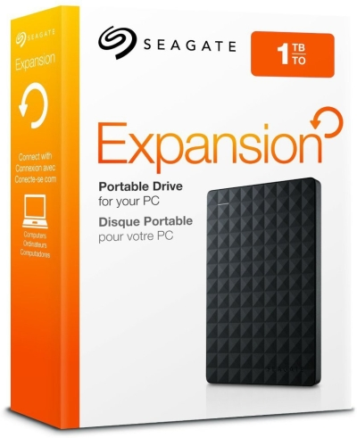 Seagate  Expansion 1 TB Wired External Hard Disk Drive