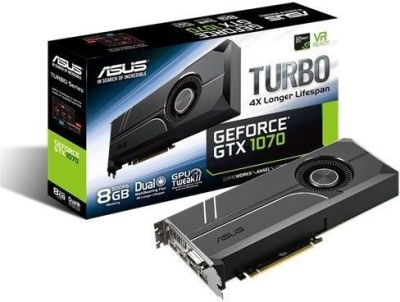 Asus NVIDIA 8GB DDR5  Graphics Card (Geforce GTX 1070)