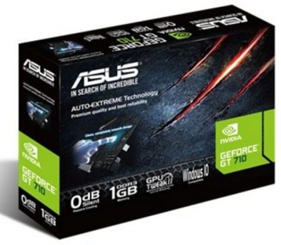 Asus NVIDIA  2 GB DDR3 Graphics Card (Geforce GT 710)