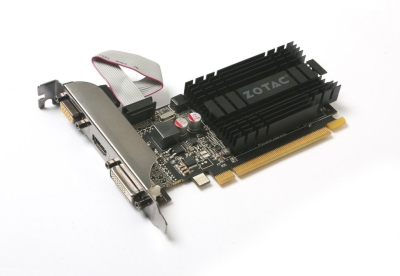 Zotac NVIDIA 2 GB DDR3 Graphics Card (GeForce  GT 710)