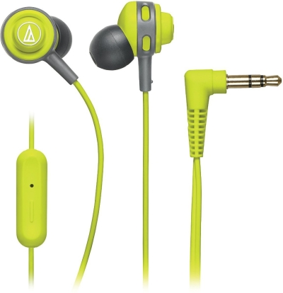 Audio Technica ATH COR150iS LG Wired Headset With Mic