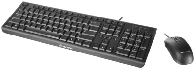 Lenovo KM4802 USB 2.0 Keyboard & Mouse Combo