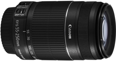 Canon EF-S 55 - 250 mm f/4-5.6 IS II  Lens