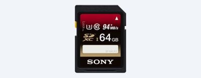 Sony 64 GB SDXC Class 10 Memory Card