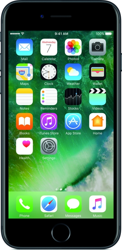 Apple iPhone 7 (Black, 128 GB)
