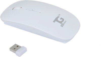 TacGears Cutie Wireless Optical Mouse (Bluetooth, White)