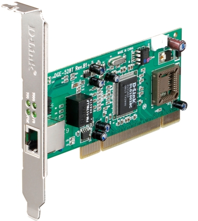 D-Link DGE-528T PCI Adapter Network Interface Card