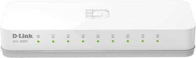 D-Link DES-1008C 10/100 Mbps Network Switch