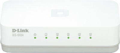 D-Link 5-Port 10/100 Network Switch