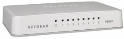 Netgear 8 Port Fast Ethernet Unmanaged Network Switch