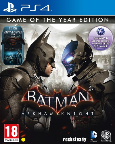 Batman Arkham Knight (Game of the Year Edition) (for PS4)