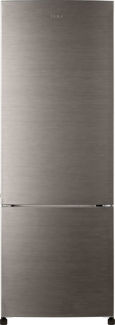 Haier 320 L Frost Free Double Door Refrigerator (HRB-3404BS-R, Brushline Silver)