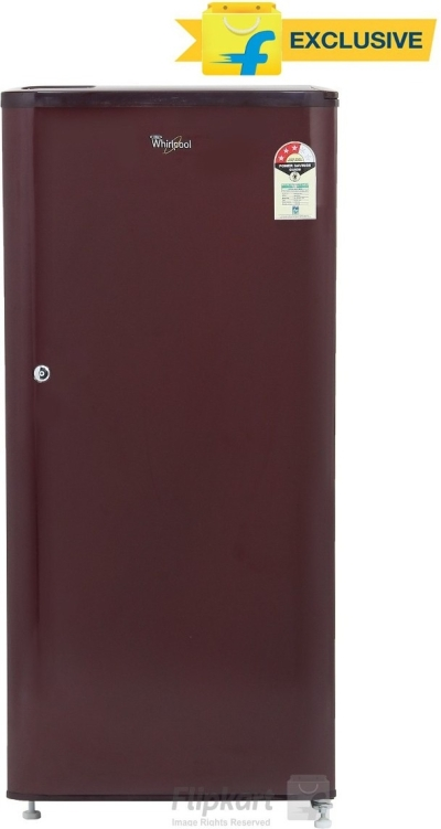 Whirlpool 190 L Direct Cool Single Door Refrigerator (WDE 205 CLS 3S WINE, Solid Wine)