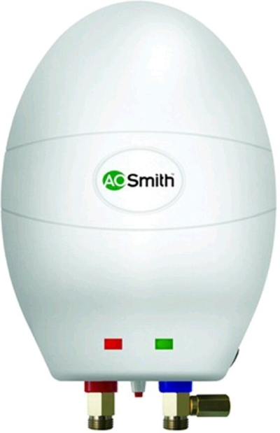 AO Smith 3 L Instant Water Geyser (White, 3KW-3L E-WS)