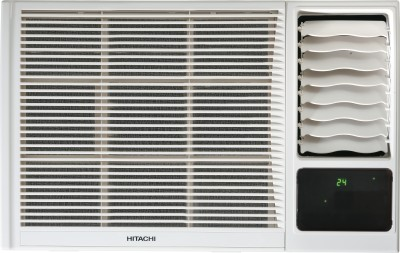 Hitachi 1 Ton 3 Star BEE Rating 2017 Window AC  - White