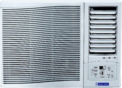 Blue Star 0.75 Ton 3 Star BEE Rating 2017 Window AC  - White