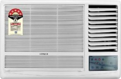 Hitachi 1.5 Ton 5 Star BEE Rating 2017 Window AC  - White