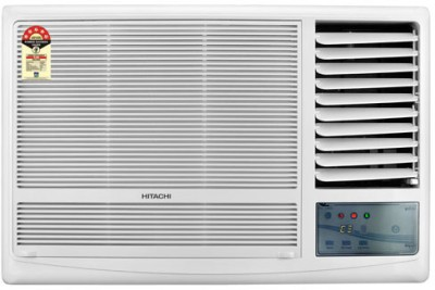 Hitachi 1 Ton 5 Star BEE Rating 2018 Window AC  - White