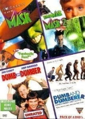 Hollywood Funny Movies (Pack Of 4 DVD's)