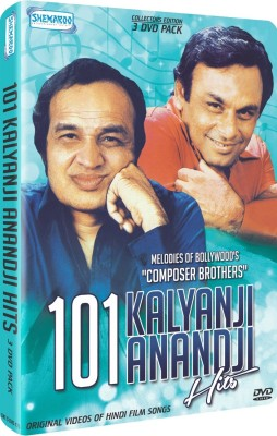 101 Kalyanji Anandji Hits Melodies Of BollywoodS Composer Brothers 3 DVD Pack