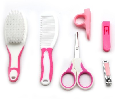 Wishkey  Grooming Set Inclusive of Brush, Comb & Manicure kit