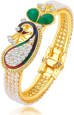 Sukkhi Alloy Gold-plated Kada