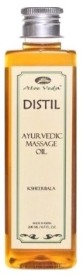 Aloe Veda Distil Ksheerbala Ayurvedic Massage Oil
