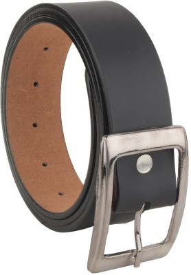 Variety Men Casual Black Artificial Leather Belt