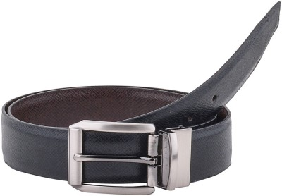 Pacific Gold Boys Formal Brown, Black Artificial Leather Reversible Belt