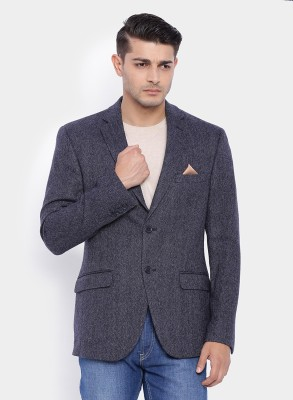 SuitLtd Harringbone Single Breasted Casual Men's Blazer