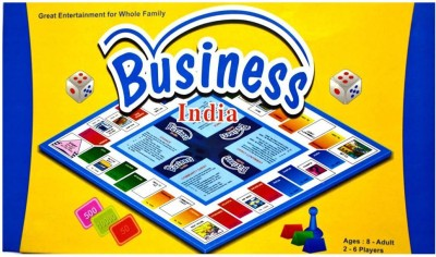 Wishkart Business India Board Game For Kids 2-6 Players Board Game