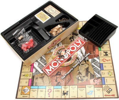 Funskool Monopoly - Deluxe Edition Board Game