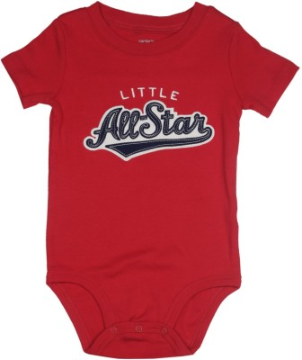 Carter's Baby Boys Red, Grey