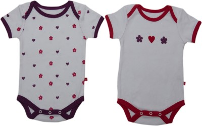 Nino Bambino Baby Boys & Baby Girls Multicolor Bodysuit