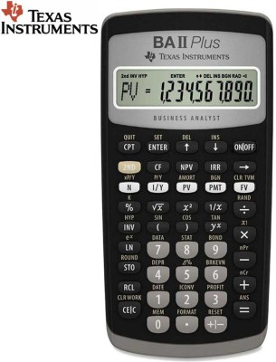 Texas Instruments BA-II Plus Advance Stealodeal BA-II Plus Advance Financial  Calculator