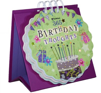 Gift-Tech 365 Birthday Quotes Make Someone Feel Really Special Perpetual Table Calendar