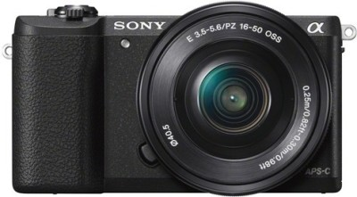 Sony ILCE-5100L Mirrorless Camera Body with Single Lens: 16-50mm Lens