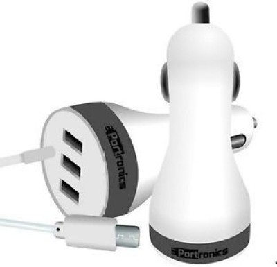 Portronics 2.1 amp Turbo Car Charger