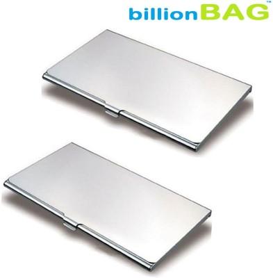 Billionbag | Executive | Pack of 2 | Steel Visiting 10 Card Holder