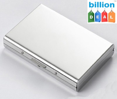 billion Deal Men Well Looking Men's Stainless ATM 6 Card Holder